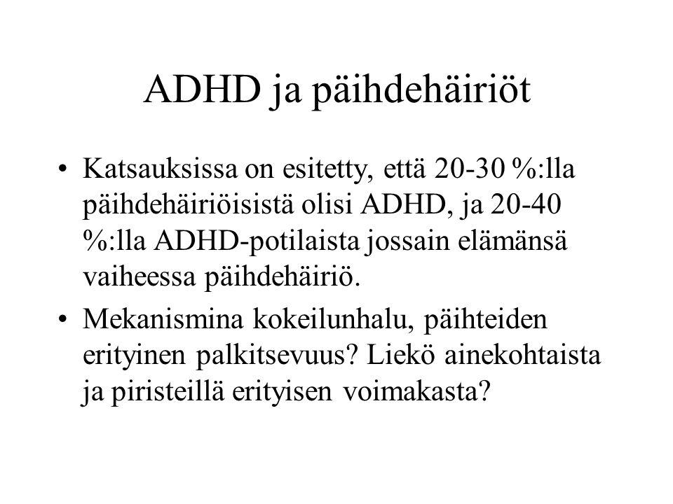 ADHD ja päihdehäiriöt