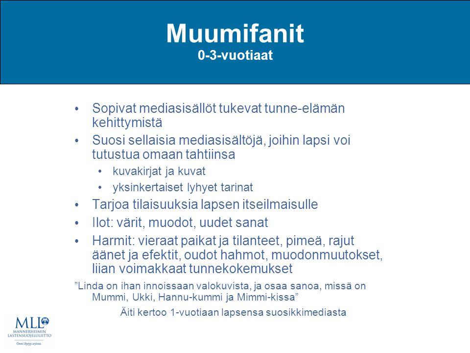Muumifanit 0-3-vuotiaat