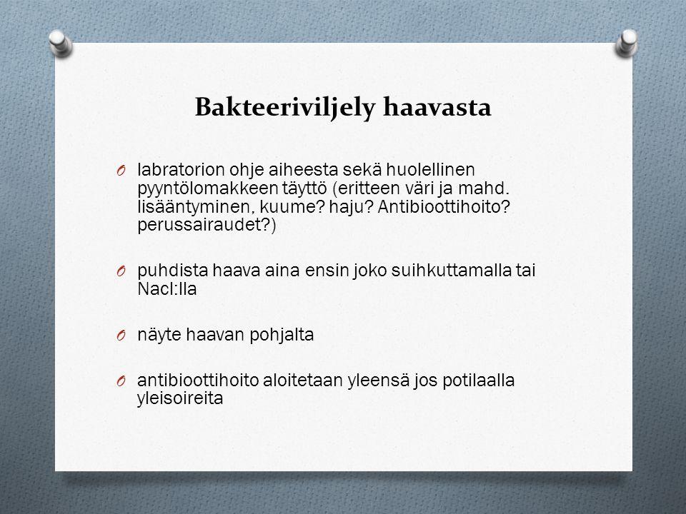 Bakteeriviljely haavasta