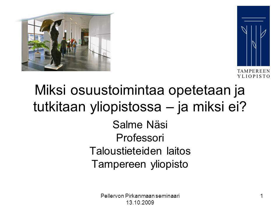 Salme Näsi Professori Taloustieteiden laitos Tampereen yliopisto