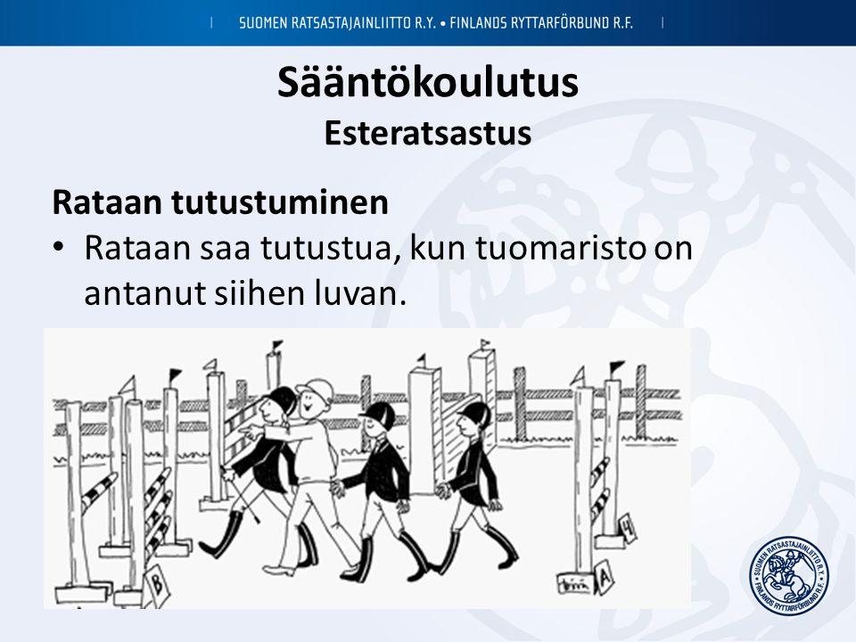 Sääntökoulutus Esteratsastus