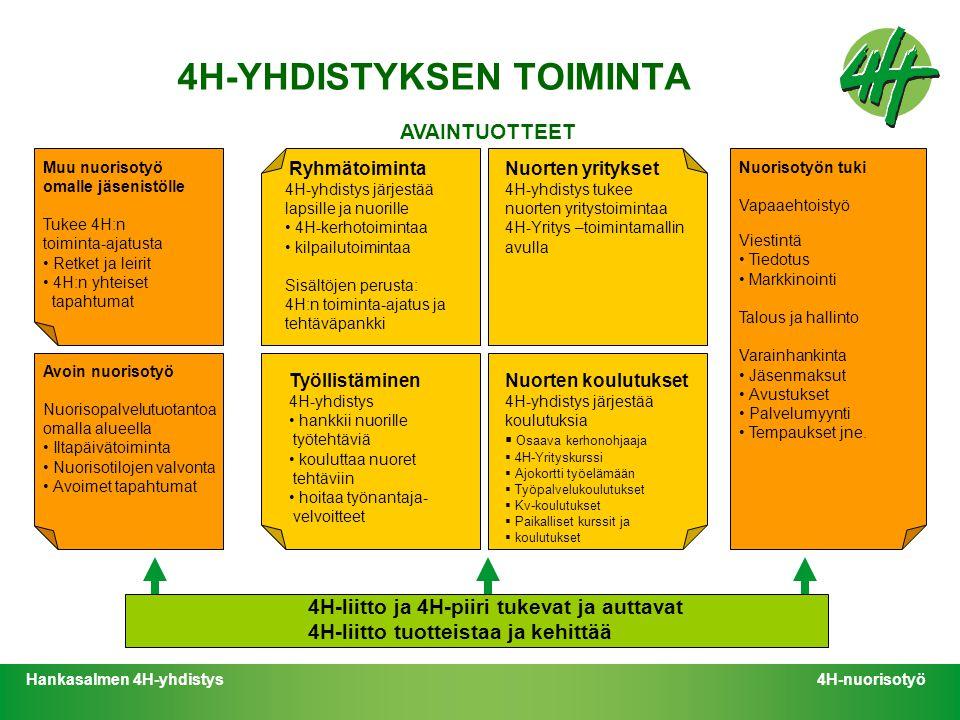 4H-YHDISTYKSEN TOIMINTA