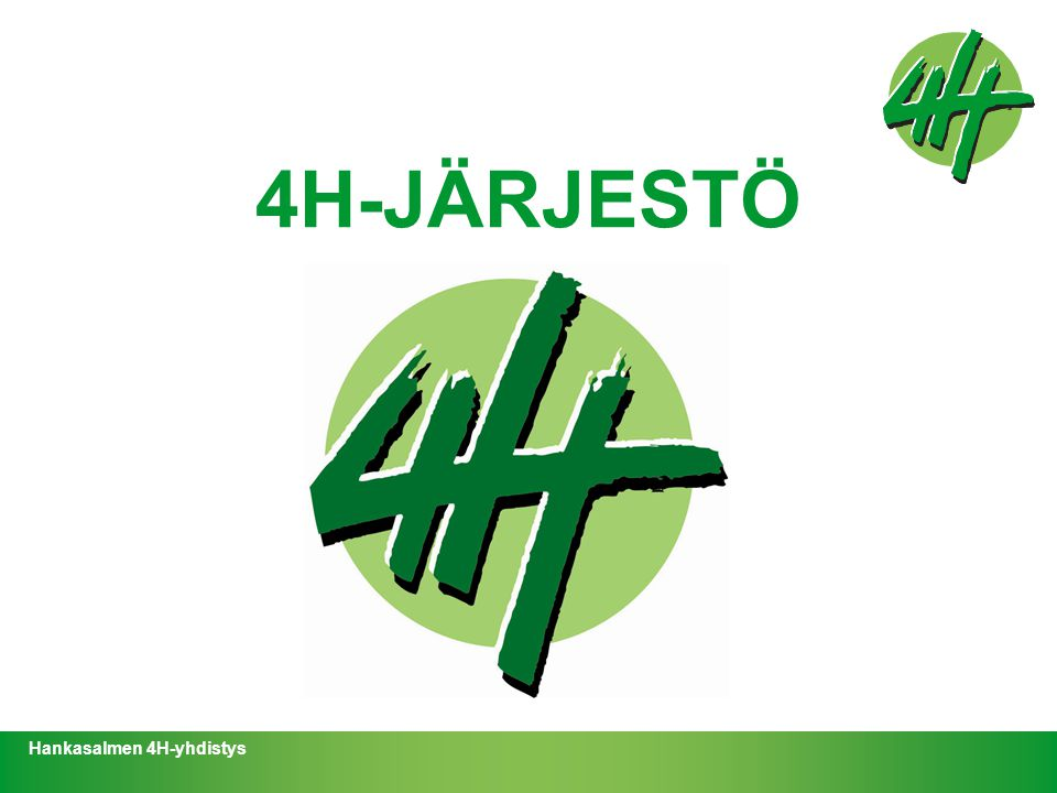 4H-JÄRJESTÖ