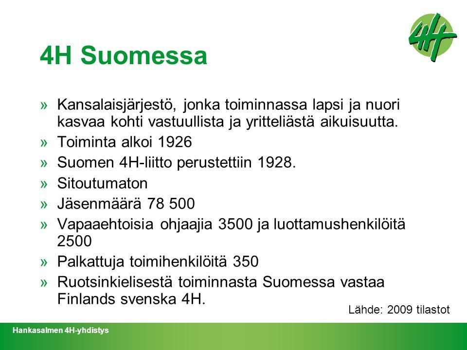 4H Suomessa Kansalaisjärjestö, jonka toiminnassa lapsi ja nuori kasvaa kohti vastuullista ja yritteliästä aikuisuutta.
