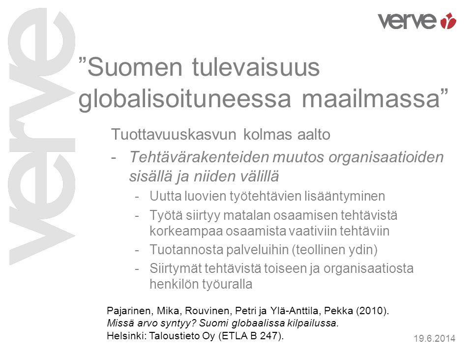 Suomen tulevaisuus globalisoituneessa maailmassa
