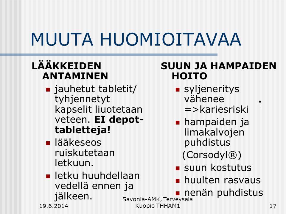 Savonia-AMK, Terveysala Kuopio THHAM1