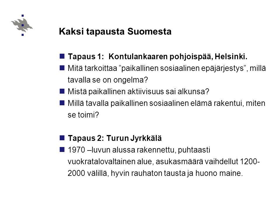 Kaksi tapausta Suomesta