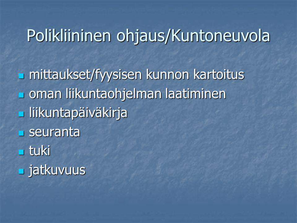 Polikliininen ohjaus/Kuntoneuvola