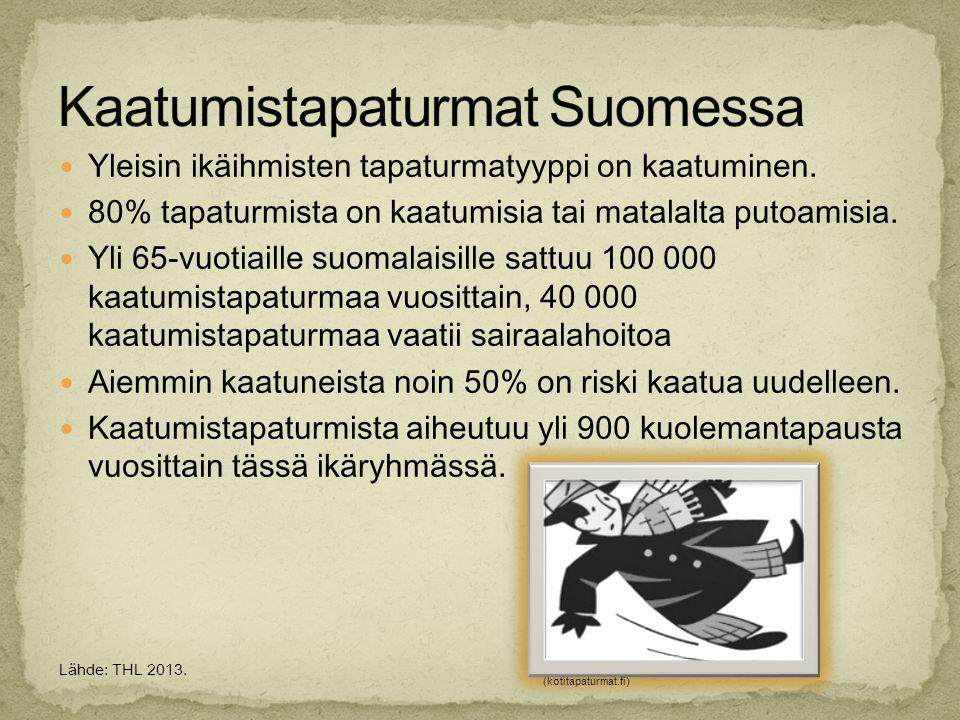 Kaatumistapaturmat Suomessa