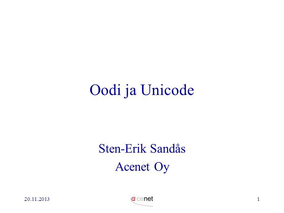 Sten-Erik Sandås Acenet Oy