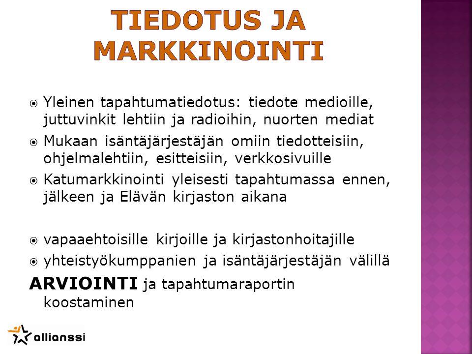H - Elävä kirjasto AVOINNA MAKS. 4 H/PV