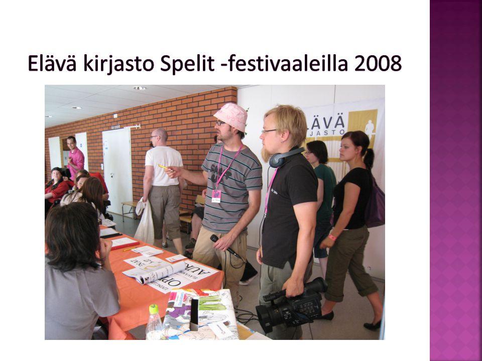 Elävä kirjasto Maailma kylässä 2008