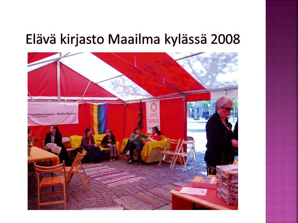 Elävä kirjasto Faces -festivaaleilla 2008