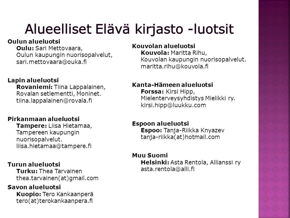 Kiitos! www.elavakirjasto.fi Asta Rentola