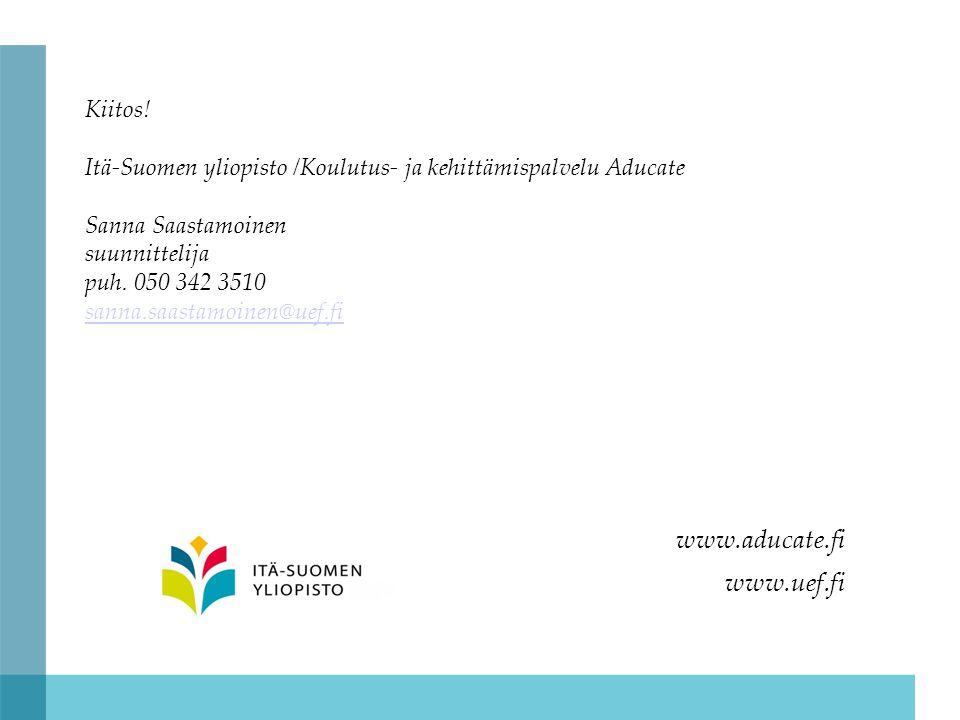 www.aducate.fi www.uef.fi