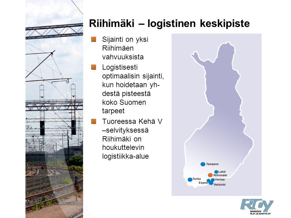 Riihimäki – logistinen keskipiste