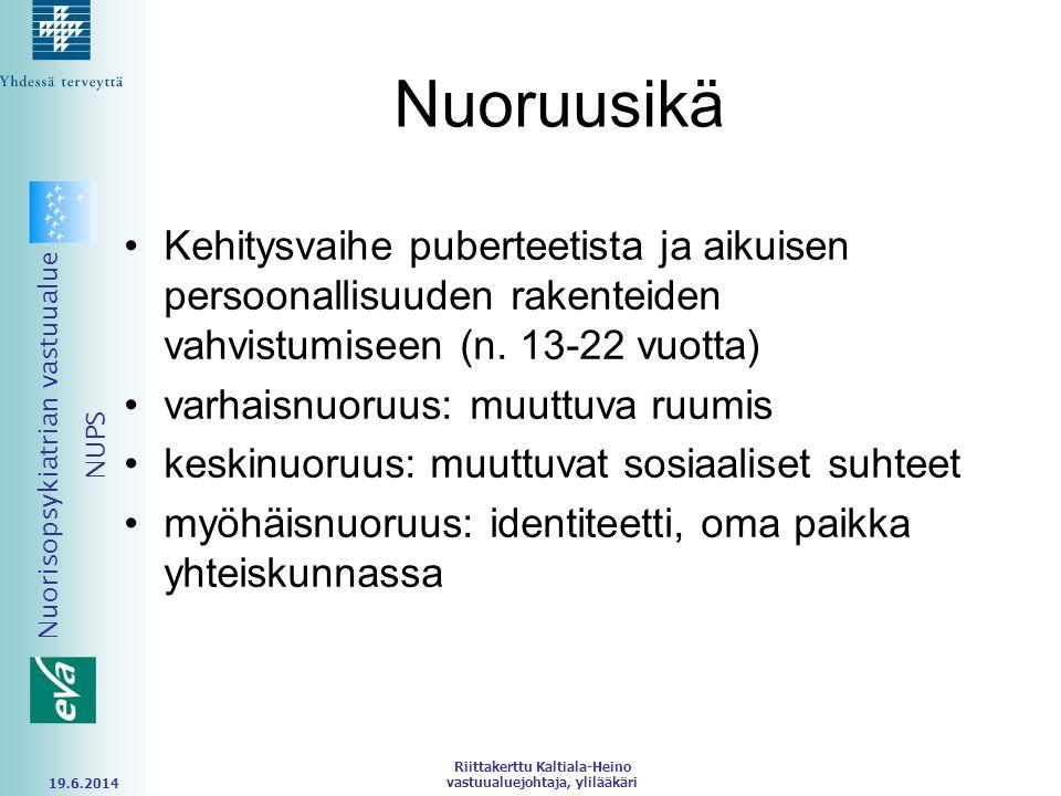 Riittakerttu Kaltiala-Heino vastuualuejohtaja, ylilääkäri