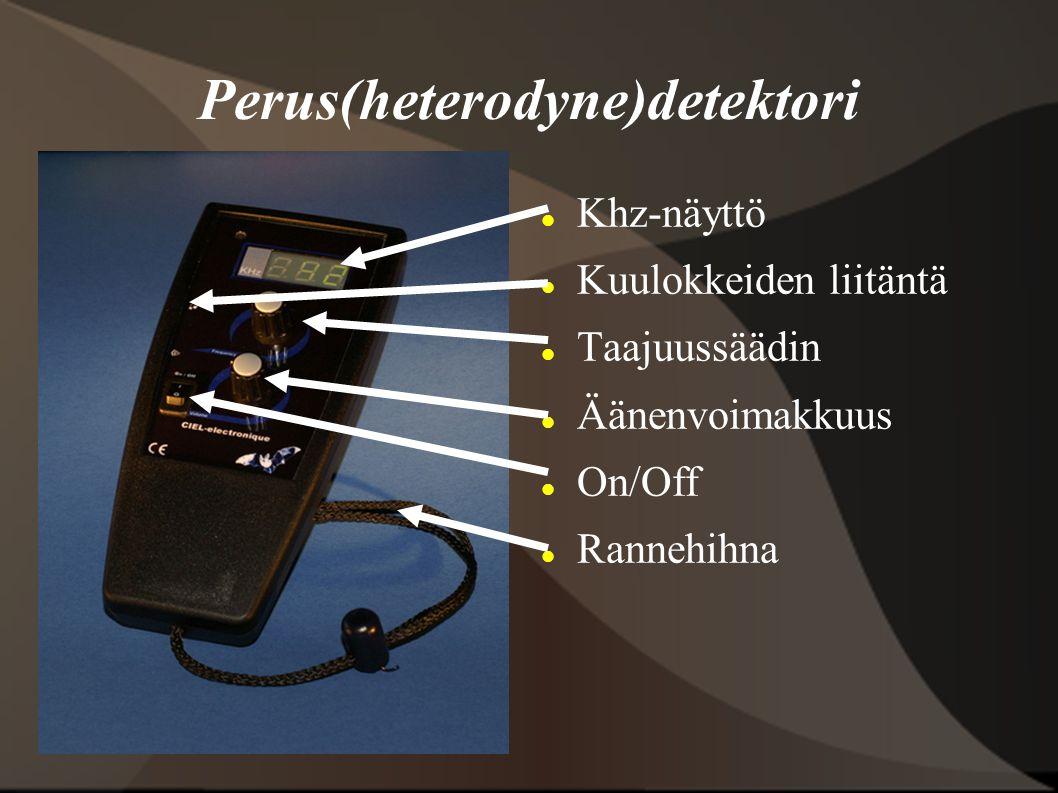 Perus(heterodyne)detektori