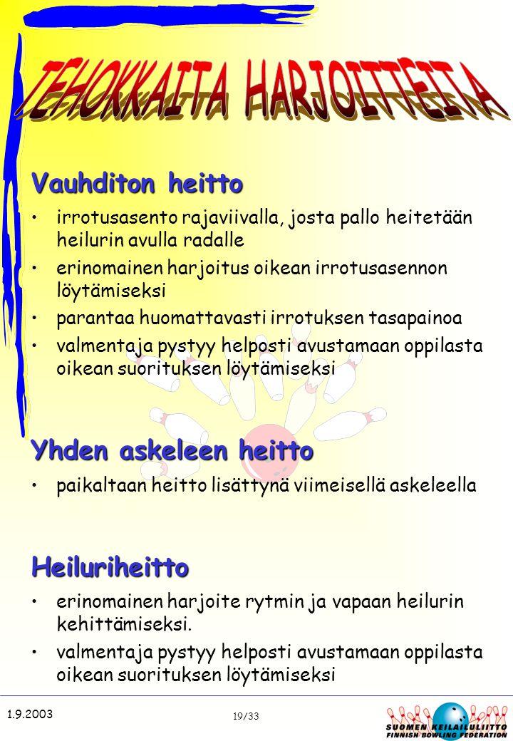 TEHOKKAITA HARJOITTEITA