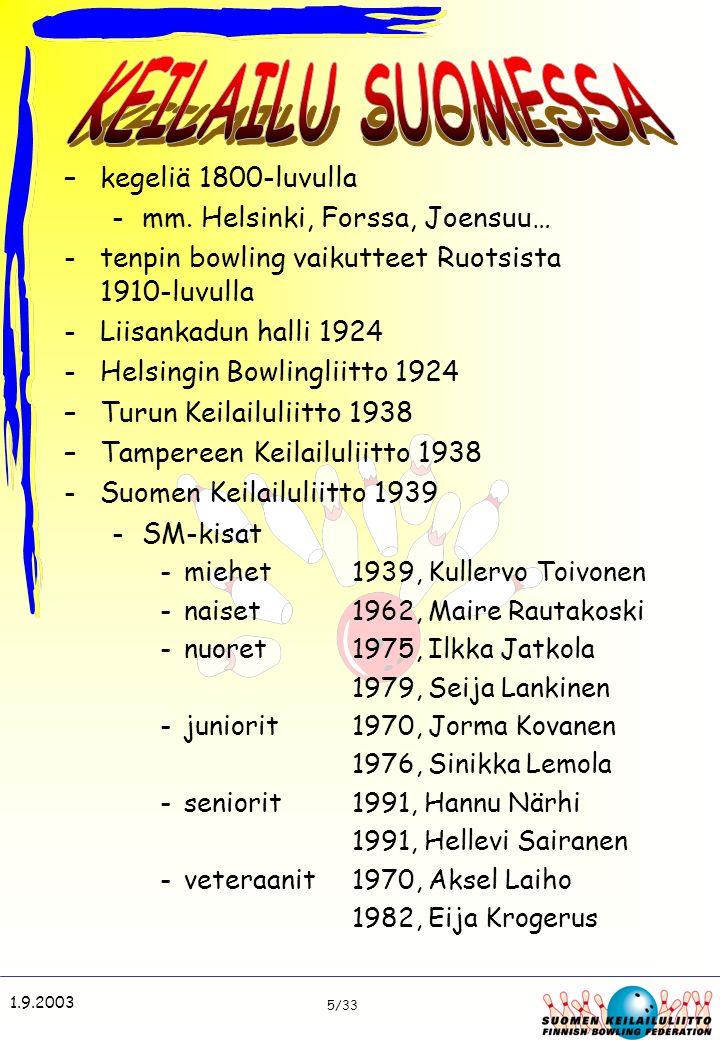 KEILAILU SUOMESSA kegeliä 1800-luvulla mm. Helsinki, Forssa, Joensuu…