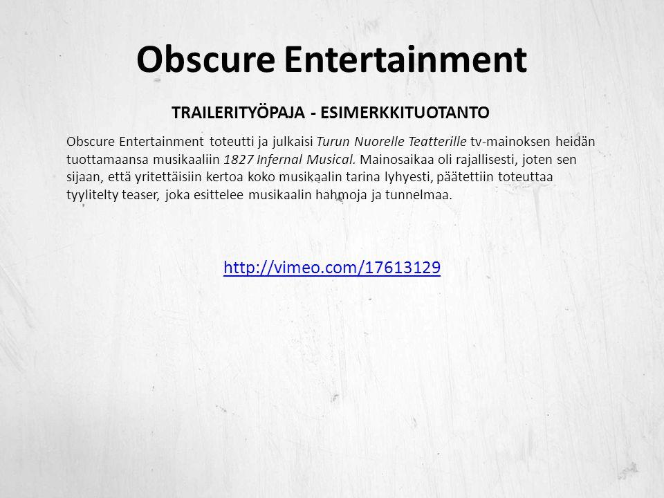 Obscure Entertainment