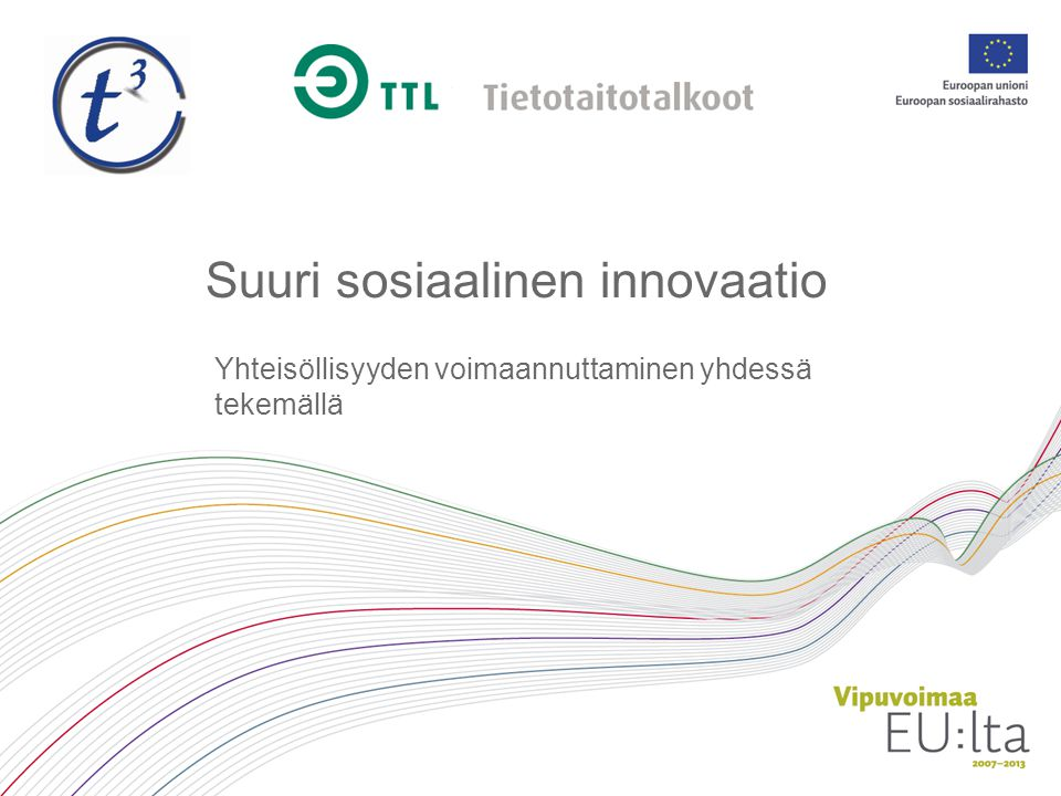 Suuri sosiaalinen innovaatio