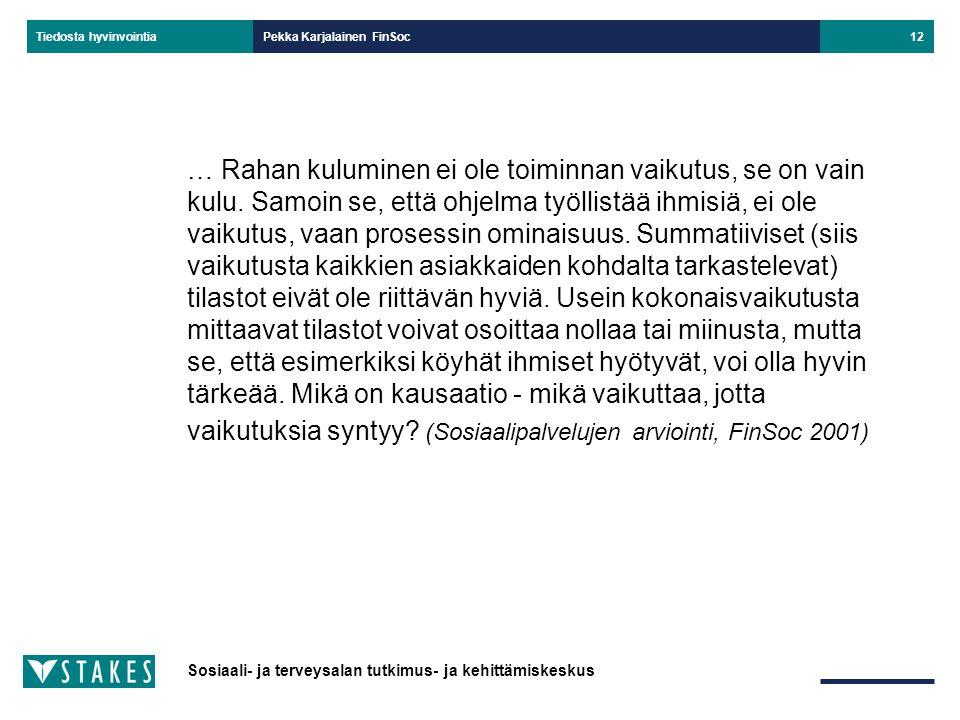 Pekka Karjalainen FinSoc