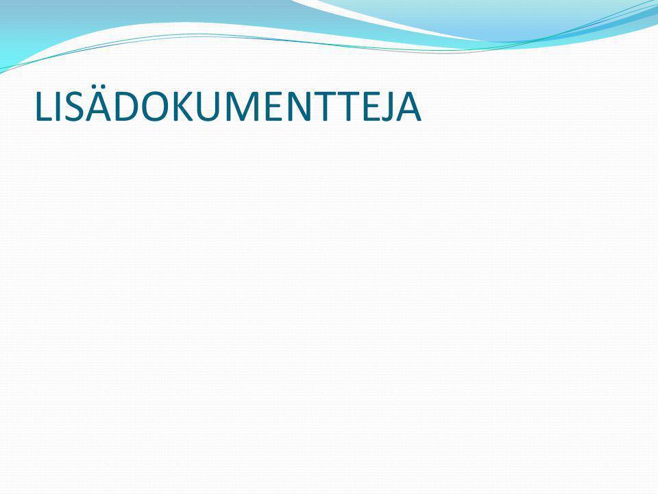 LISÄDOKUMENTTEJA