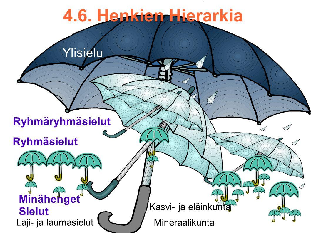 4.6. Henkien Hierarkia Ylisielu Ryhmäryhmäsielut Ryhmäsielut