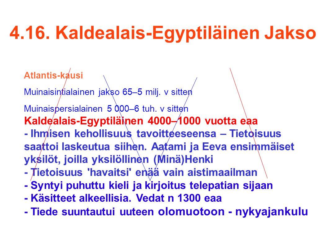 4.16. Kaldealais-Egyptiläinen Jakso