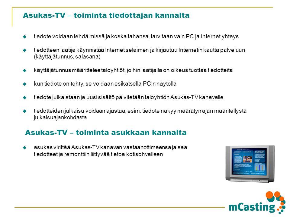 Asukas-TV – toiminta tiedottajan kannalta