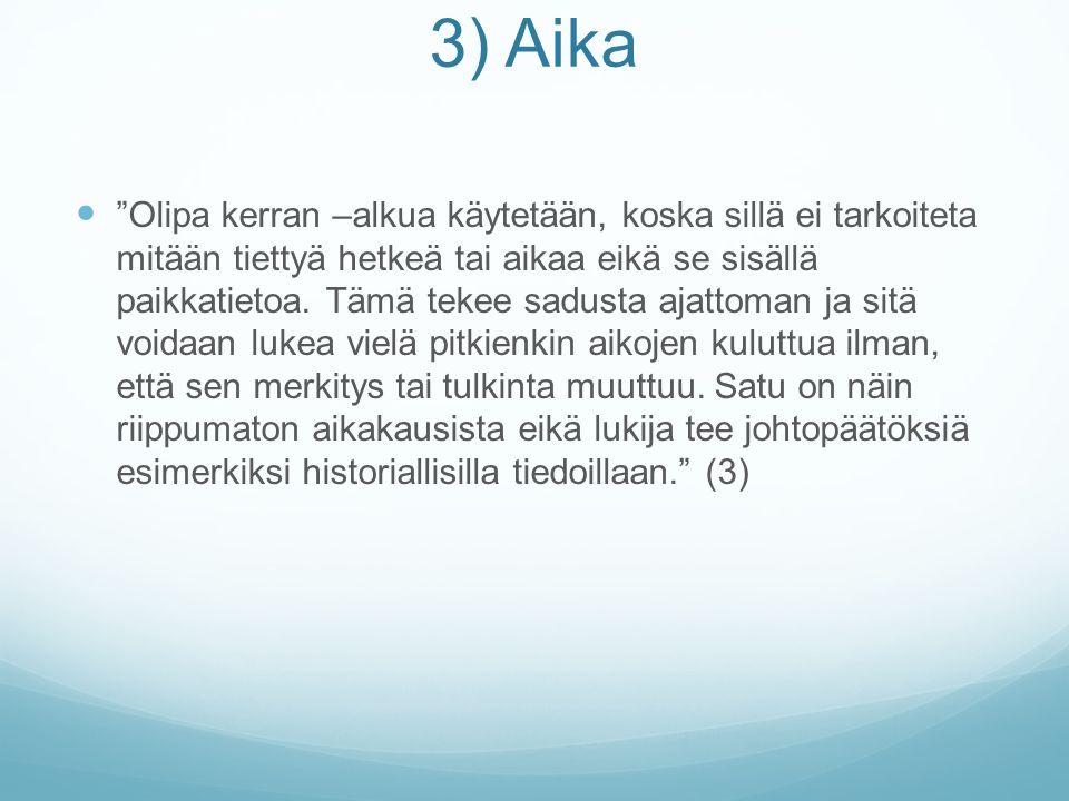 3) Aika