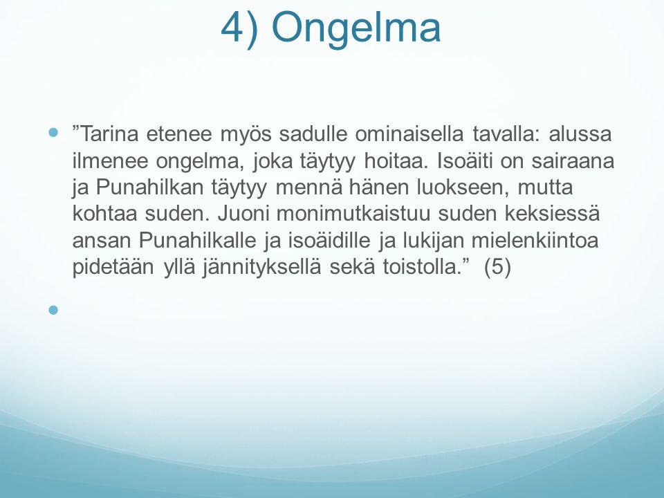 4) Ongelma