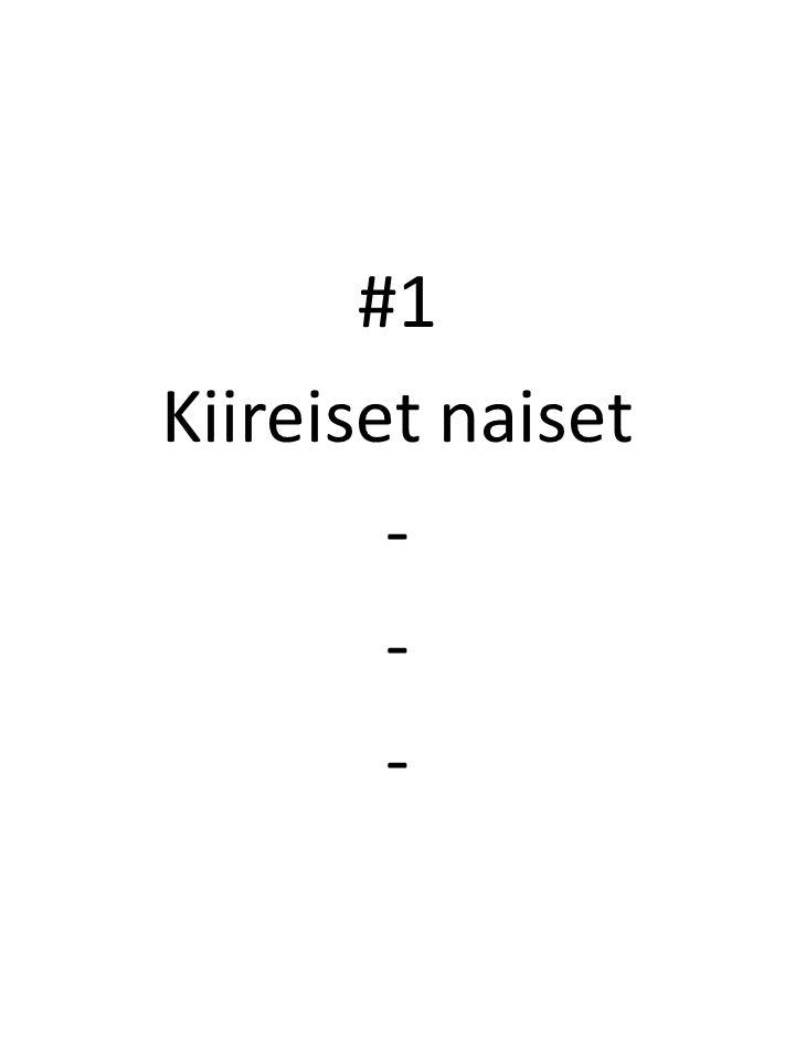 #1 Kiireiset naiset -