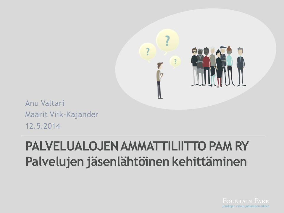 Anu Valtari Maarit Viik-Kajander. 12.5.2014.