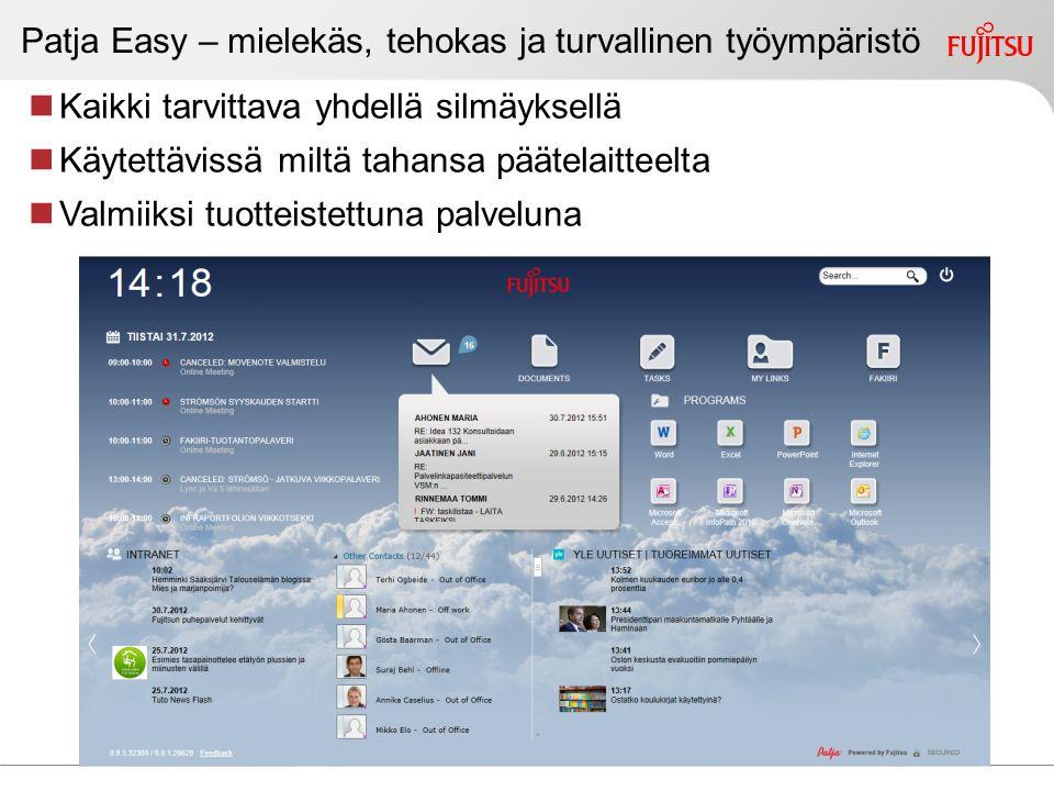 Digitalisaatio 2013 – käyttäjä keskipisteessä
