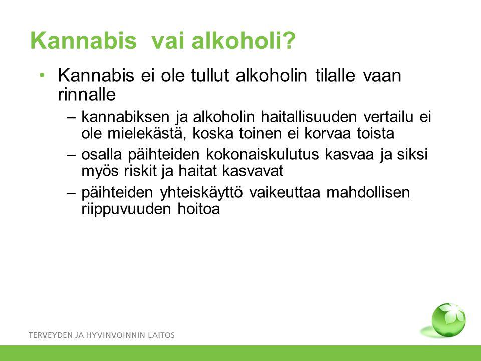 kannabis alkoholi Ylojarvi