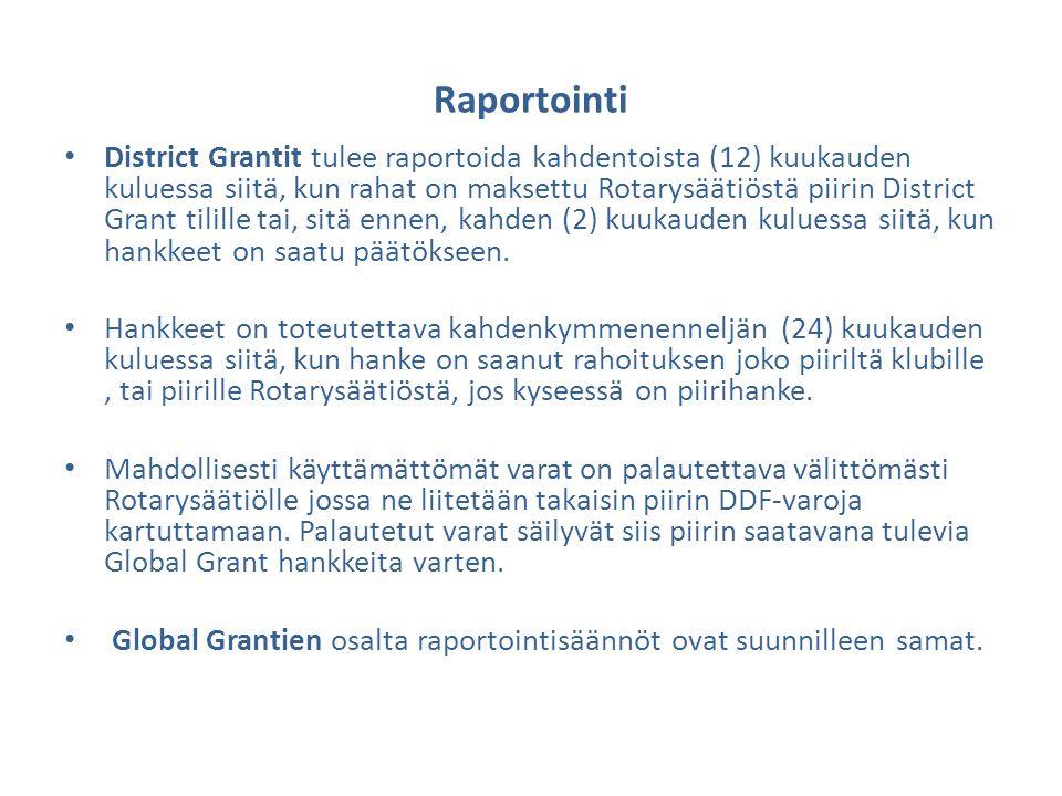 Raportointi