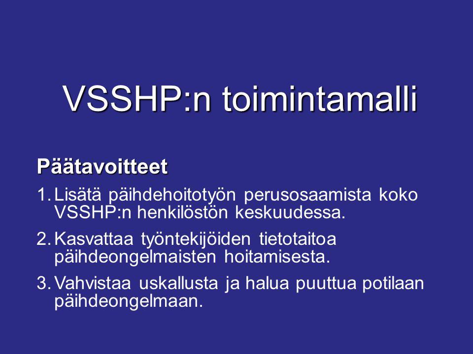 VSSHP:n toimintamalli