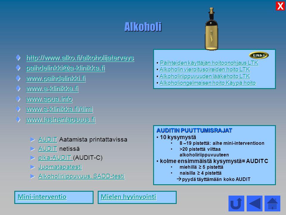 Alkoholi X http://www.alko.fi/alkoholijaterveys