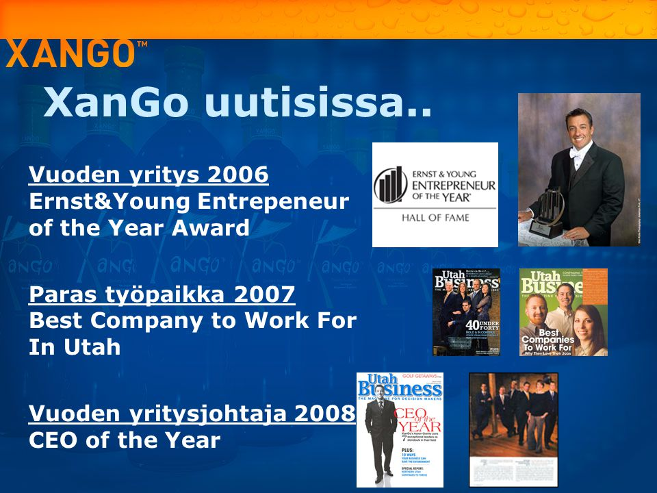 XanGo uutisissa.. Vuoden yritys 2006