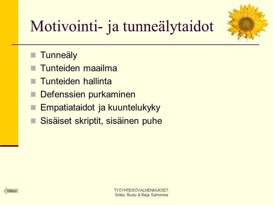 Motivointi- ja tunneälytaidot