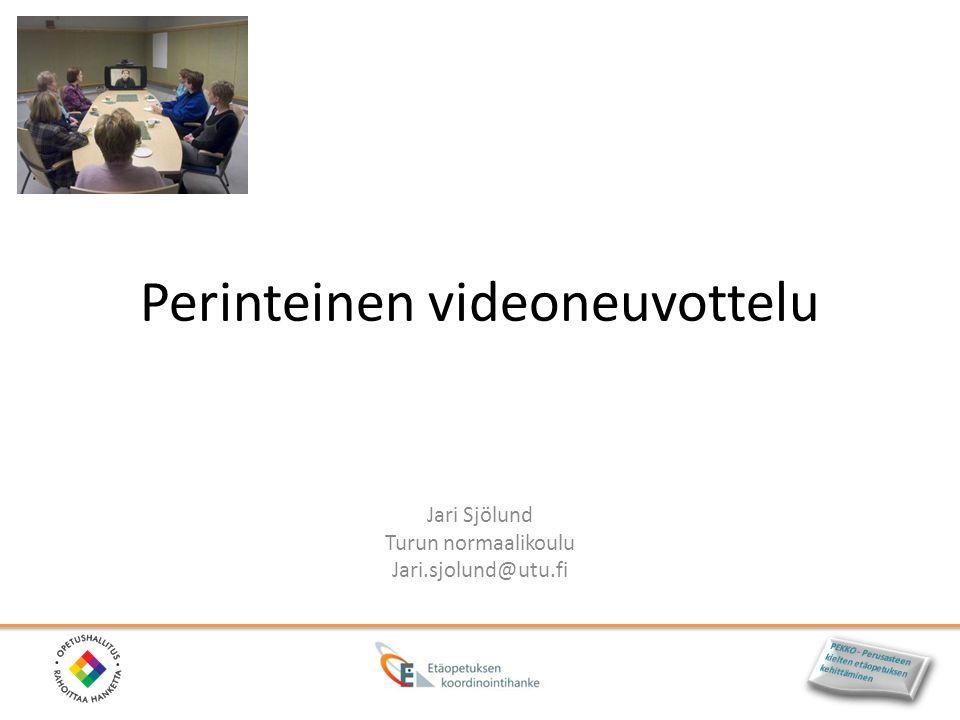 Perinteinen videoneuvottelu