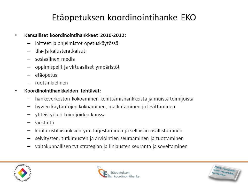 Etäopetuksen koordinointihanke EKO