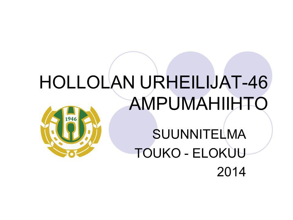 HOLLOLAN URHEILIJAT-46 AMPUMAHIIHTO