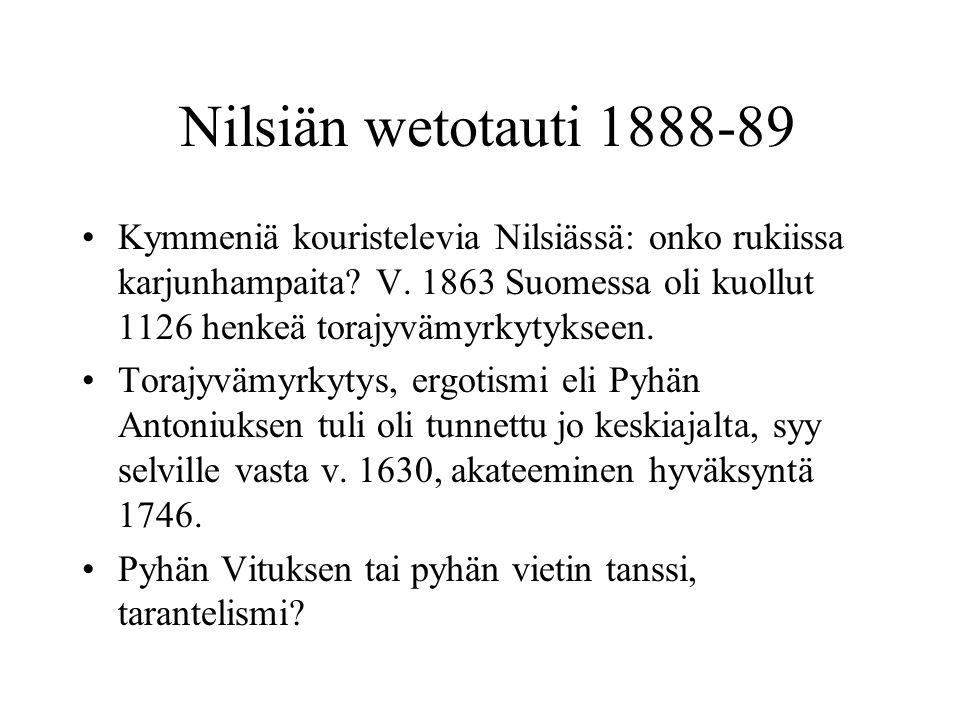 Nilsiän wetotauti 1888-89