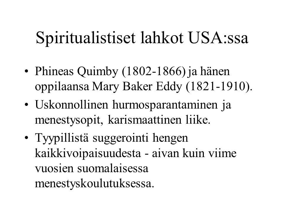 Spiritualistiset lahkot USA:ssa