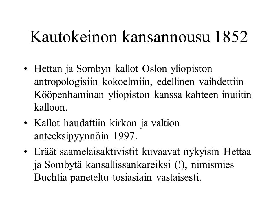 Kautokeinon kansannousu 1852
