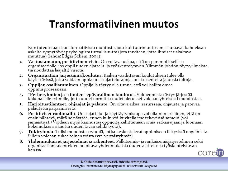 Transformatiivinen muutos