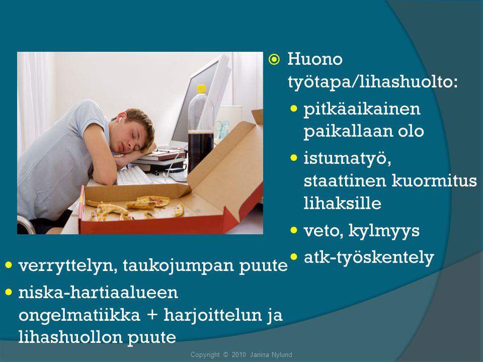 Copyright © 2010 Janina Nylund
